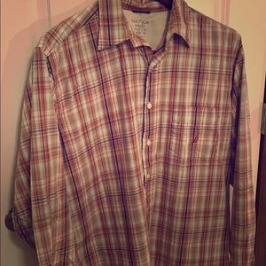 Nautica Men's LS Vintage Button down